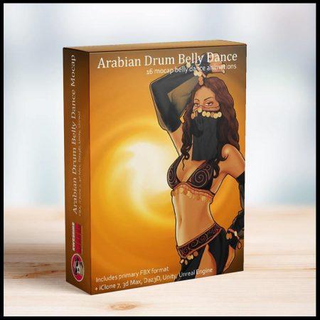 16 Arabian Drum Belly Dances MoCap - Awesome Dog Mocap