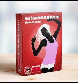 Free Mocap Sample Dances MoCap - Awesome Dog Mocap