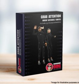 63 Grab Attention Gestures MoCap - Awesome Dog Mocap