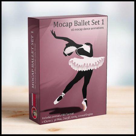 Mocap Ballet Set 1 MoCap - Awesome Dog Mocap
