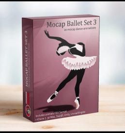 Mocap Ballet Set 3 MoCap - Awesome Dog Mocap
