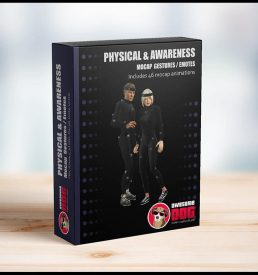 61 Physical & Awareness Gestures MoCap - Awesome Dog Mocap